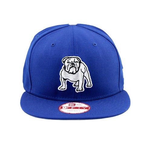 Canterbury Bulldogs Supporter Blue Snapback New Era Cap
