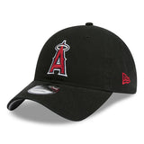 Anaheim Angels 9Twenty NEW ERA Black Strapback Cap Lidz Caps Australia