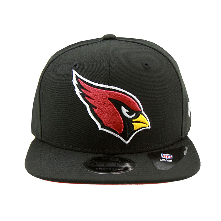 Arizona Cardinals New Era Black Snapback 9fifty Cap