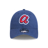 Atlanta Braves Alt Logo 9Twenty Royal Blue New Era Strapback Cap Lidz Caps Australia