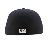 Atlanta Braves New Era Authentic Collection Road Navy Fitted Cap