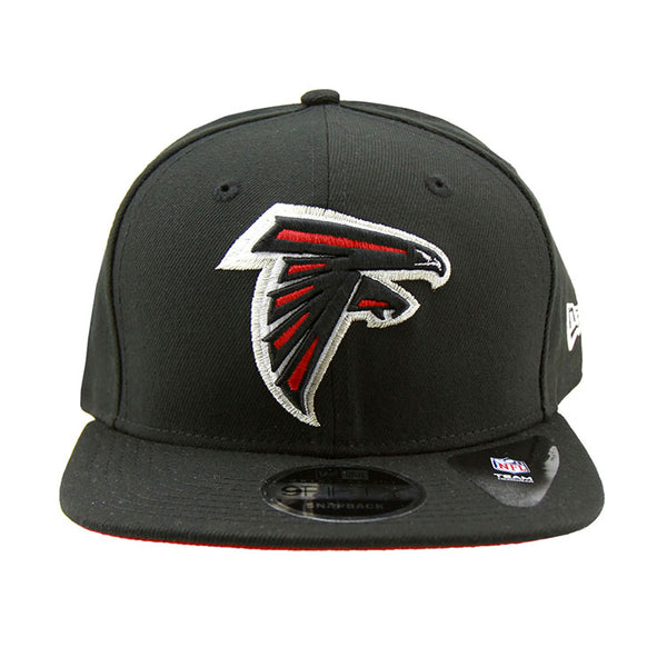 sports shoes af670 89436 ... uk atlanta falcons new era black snapback 9fifty original fit cap 5c5aa  8bdcb
