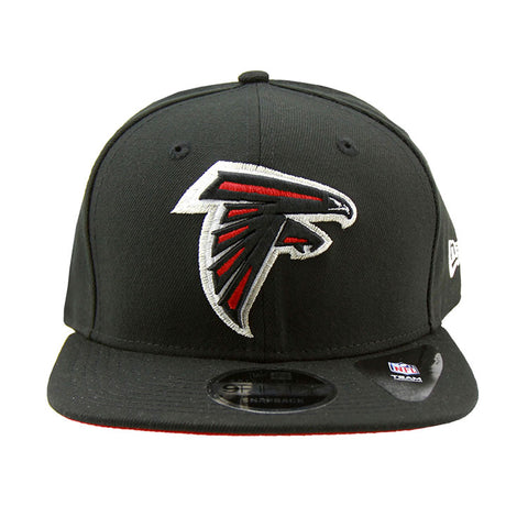 Atlanta Falcons New Era Black Snapback 9fifty Original Fit Cap