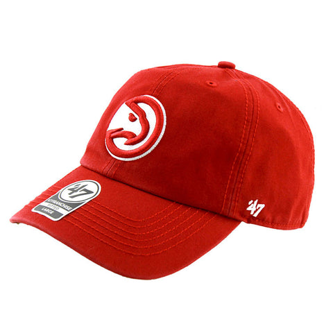 Atlanta Hawks Red Fashion Fitted 47 Brand Cap