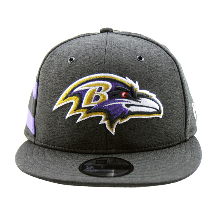 Baltimore Ravens New Era 2018 Sideline Collection Onfield Snapback 9fifty Original Fit Cap