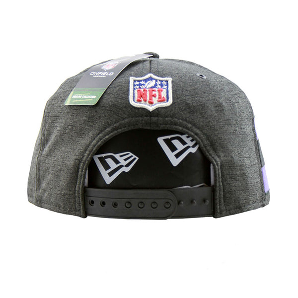 ... Baltimore Ravens New Era 2018 Sideline Collection Onfield Snapback  9fifty Original Fit Cap ... ac6365c47