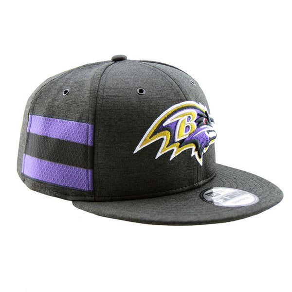 0f359d0967f ... Baltimore Ravens New Era 2018 Sideline Collection Onfield Snapback  9fifty Original Fit Cap