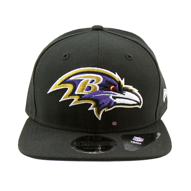 Baltimore Ravens New Era Black Snapback 9fifty Cap