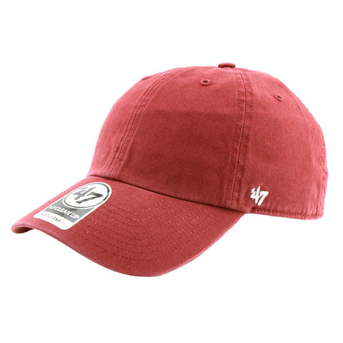 Blank '47 Brand Cleanup Strapback Cap Cardinal