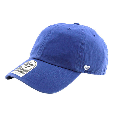 Blank '47 Brand Cleanup Strapback Cap Royal