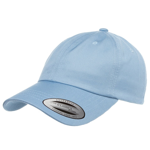 Blank Flexfit Prime Strapback Yupoong The Classics Adjustable Regatta Light Blue Cap