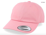 Blank Flexfit Prime Strapback Yupoong The Classics Adjustable Light Pink Cap