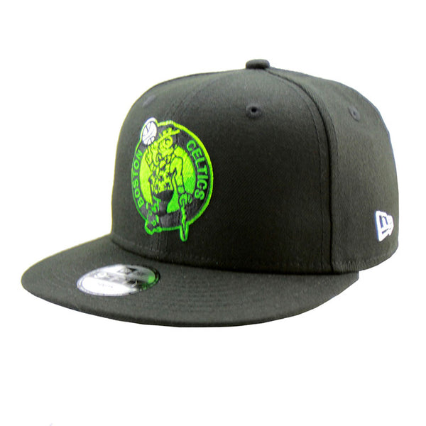 outlet store b5fde cdb7b Boston Celtics New Era Youth Black 9Fifty Performance Cap – Lidzcaps