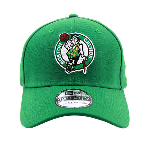 Boston Celtics Performance Green 3930 New Era Stretch Fit Cap