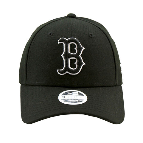 Boston Red Sox Black 9forty Adjustable Cap Women's