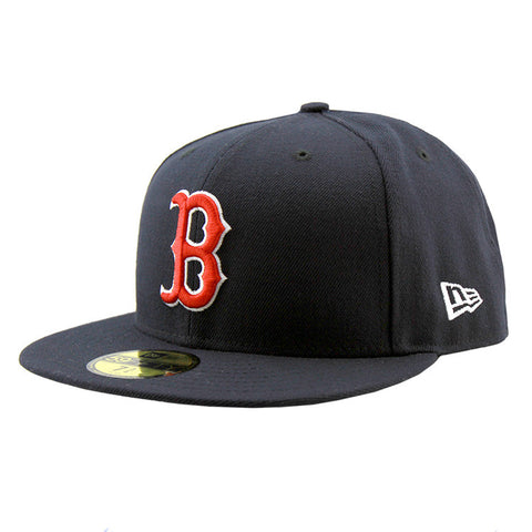 Boston Red Sox Navy On Field Fitted New Era Cap
