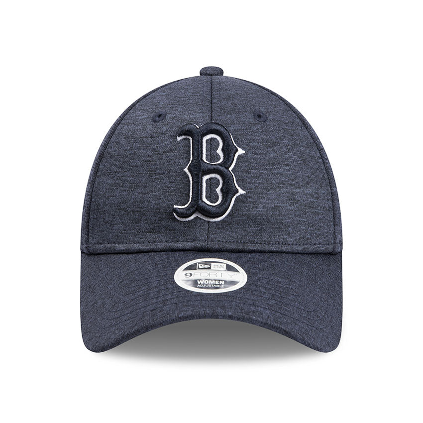Boston Red Sox New Era Tech Heather Navy 9forty Adjustable Cap Women