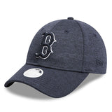 Boston Red Sox New Era Tech Heather Navy 9forty Adjustable Cap Women's