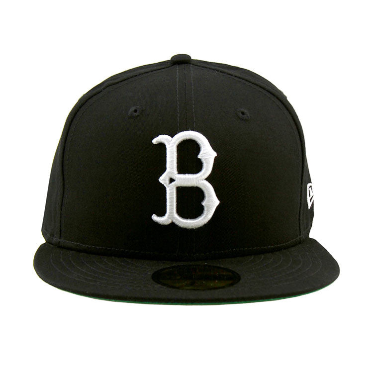 dodgers baseball heritage series black fitted cap white caps front 1955 brooklyn
