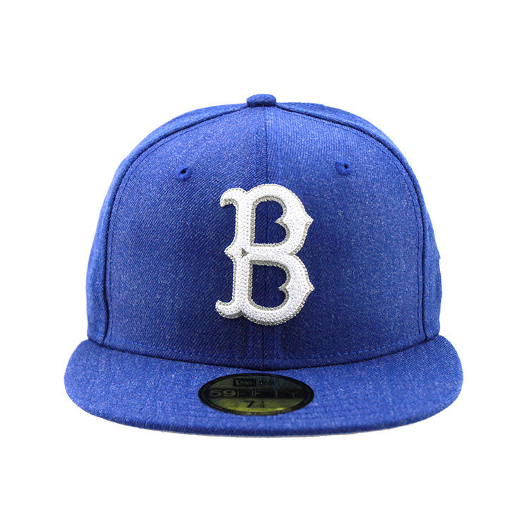 Brooklyn Dodgers Heather Crisp Fitted New Era Cap Cooperstown Collection