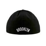 Brooklyn Nets Black White Fashion Fitted 47 Brand Cap