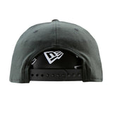 Bufallo Bills New Era Black 9Fifty Stretch-Snap Cap