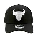 Chicago Bulls A-Frame Black 9forty Adjustable Cap