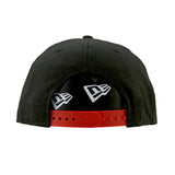 Chicago Bulls New Era NBA Black Snapback Cap