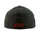 Chicago Bulls Performance Black 3930 New Era DE Cap