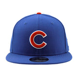 Chicago Cubs Blue New Era Snapback Cap