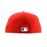 Cincinatti Reds MLB Pin Red Fitted New Era Cap