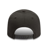 Cincincatti Reds Script New Era Black 9Fifty Stretch-Snap Cap