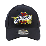 Cleveland Cavaliers 9forty Adjustable New Era Navy Cap