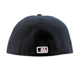 Cleveland Indians Navy Alternate Logo AC Performance Fitted Cap