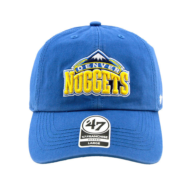 Denver Nuggets Blue Fashion Fitted 47 Brand Cap