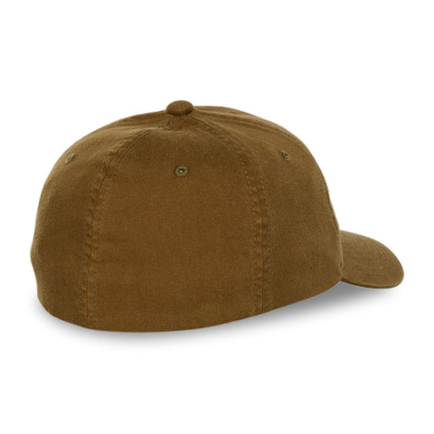 Blank Flexfit Garment Washed Lo-Pro Fitted Loden Cap