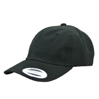 Blank Flexfit Brand Hey Dad Strapback Adjustable Black Cap