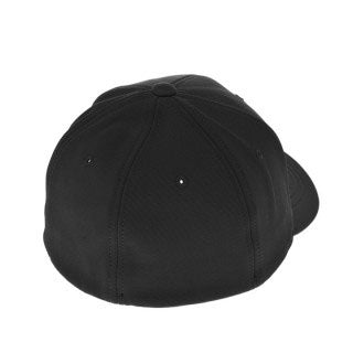 Blank Flexfit Brand Mini Ottoman Fitted Black Cap