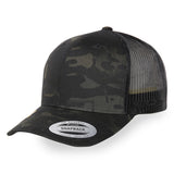 Flexfit Brand Retro Trucker Multicam Black Cap