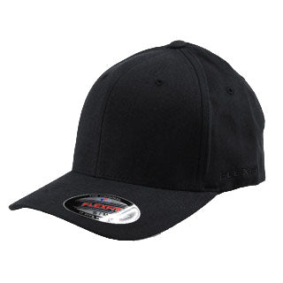 970a7fa0dc96 Blank Flexfit Brand Worn By The World Fitted Black Cap – Lidzcaps