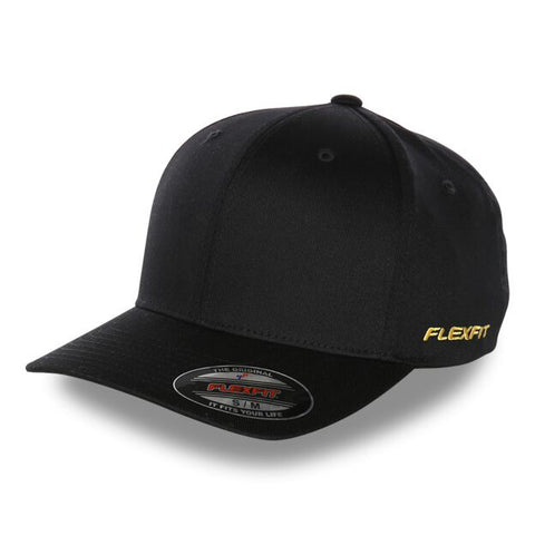 Blank Flexfit Brand Staple Wool Blend Fitted Olive Cap