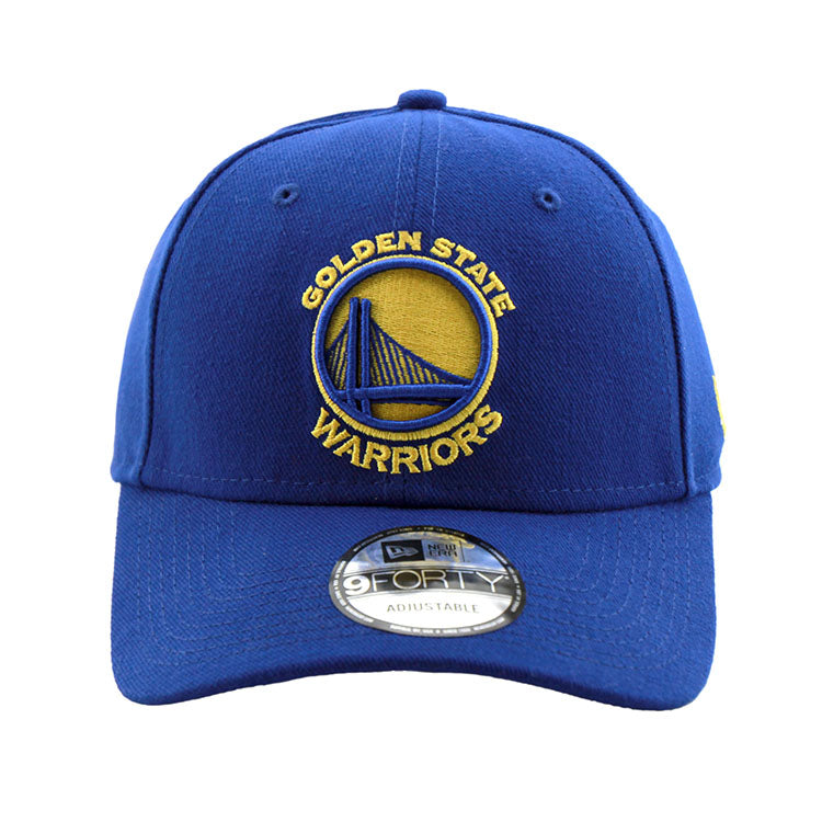 Golden State Warriors 9forty Adjustable New Era Blue Cap