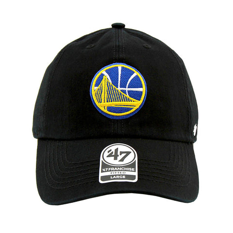 Golden State Warriors Black Fashion Fitted 47 Brand Cap