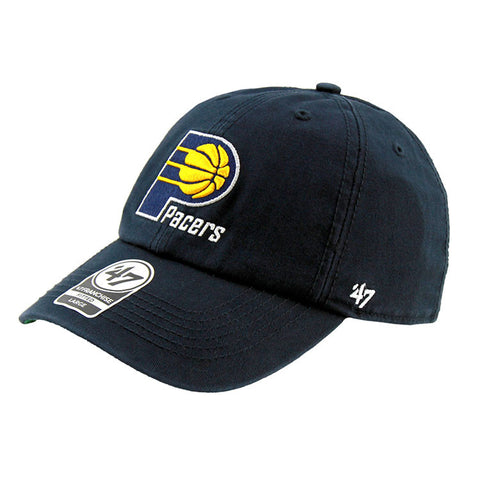 Indiana Pacers Faded Navy Fashion Fitted 47 Brand Cap