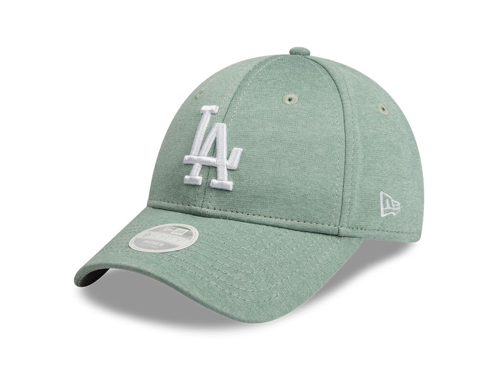 Los Angeles Dodgers New Era Jersey Mint Green 9forty Adjustable Cap Women