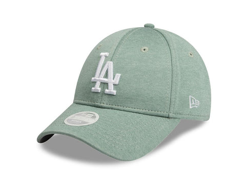 Los Angeles Dodgers New Era Jersey Mint Green 9forty Adjustable Cap Women's