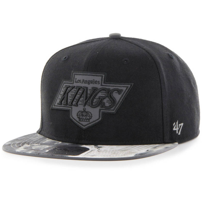 Los Angeles Kings Ice Black Reflective Captain