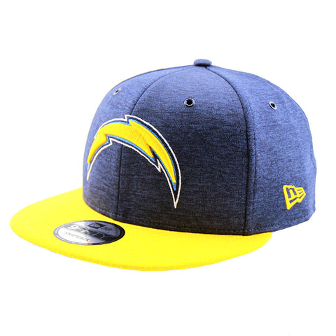 Los Angeles Chargers New Era 2018 Sideline Collection Snapback 9fifty Original Fit Cap