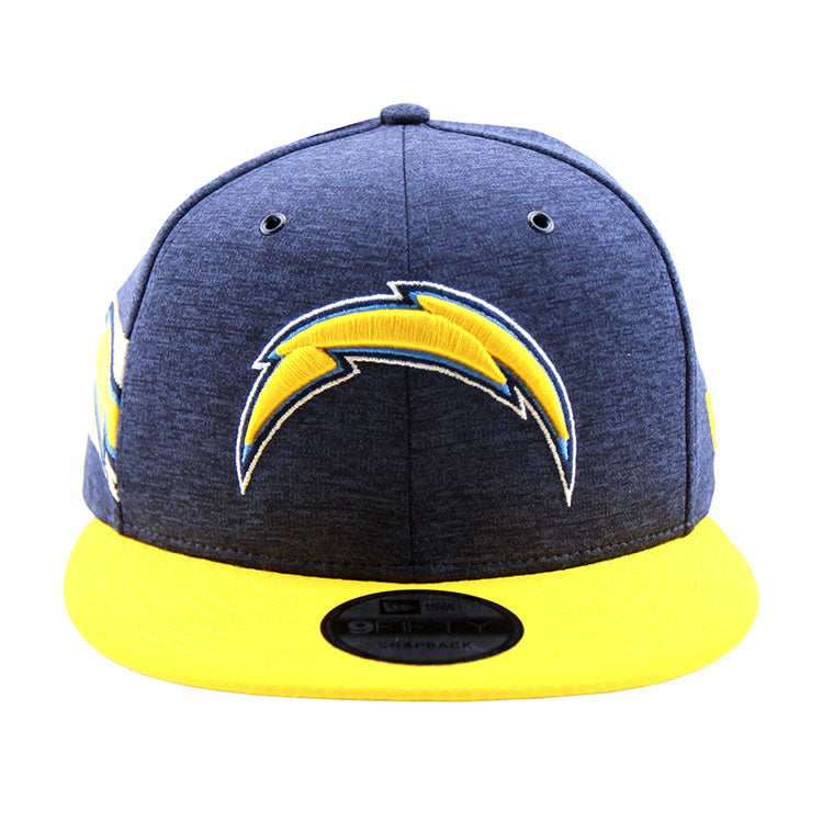 Los Angeles Chargers New Era 2018 Sideline Collection Snapback 9fifty Original Fit Cap front