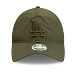 Los Angeles Dodgers 9Twenty New Era Adjustable Olive Cap Women's front